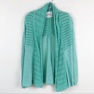 Anthropologie Angel of the North Cardigan Small